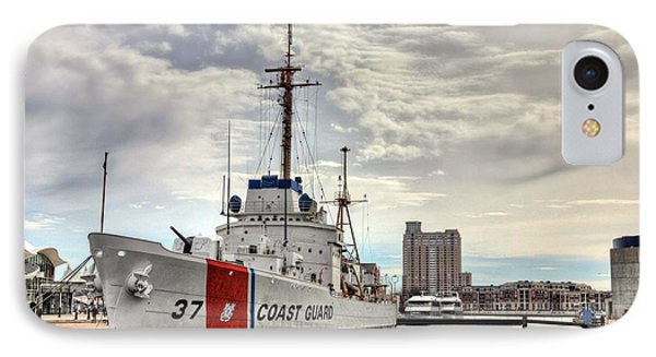 Uscg Cutter Taney IPhone Case