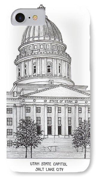Utah State Capitol IPhone Case