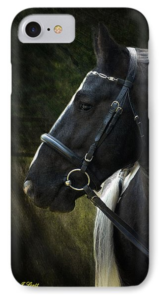 Val Headshot IPhone Case