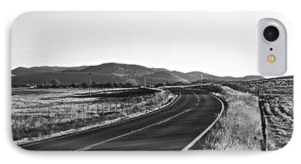 Valley Springs Road Panorama IPhone Case