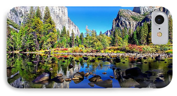 Valley View Reflection Yosemite National Park IPhone Case