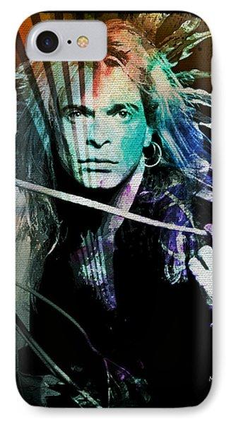 1d3d07f428a David Lee Roth iPhone 8 Case - Van Halen - David Lee Roth by Absinthe Art