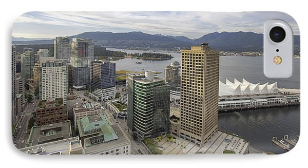 Vancouver Bc City With Stanley Park View IPhone Case