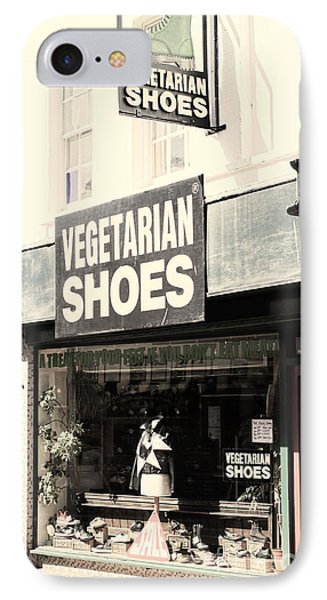 Vegetarian Shoes IPhone Case