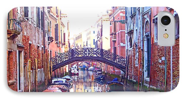 Venetian Reflections IPhone Case