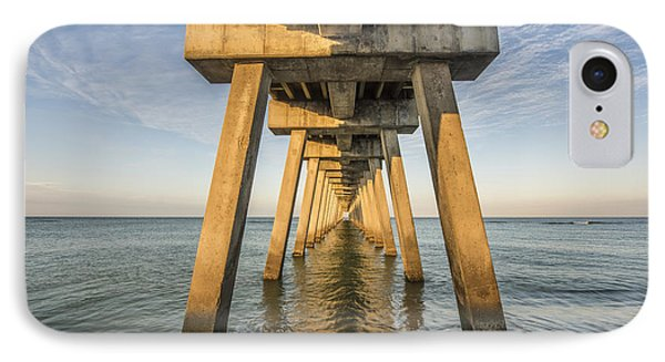 Beauty In Nature iPhone 8 Case - Venice Below The Pier by Jon Glaser