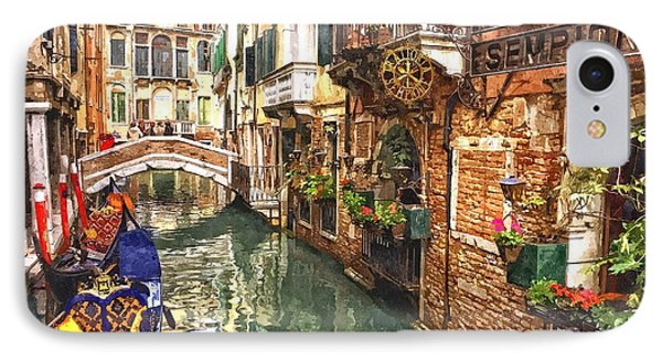 Venice Canal Serenity IPhone Case