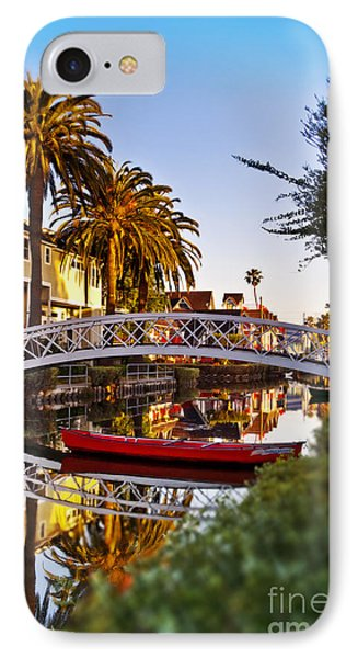 Venice Canal Sunrise IPhone Case
