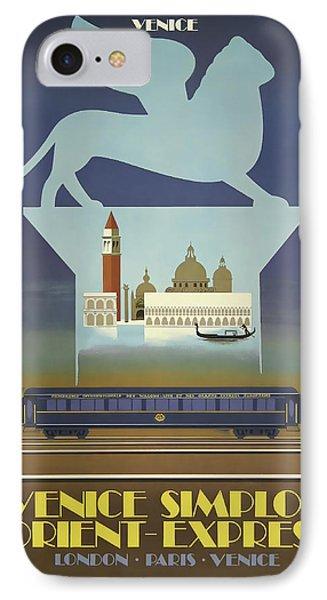 Venice Orient Express IPhone Case