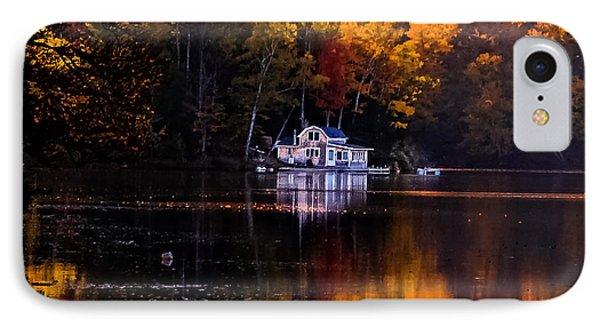 Vermont Route14 Pond IPhone Case