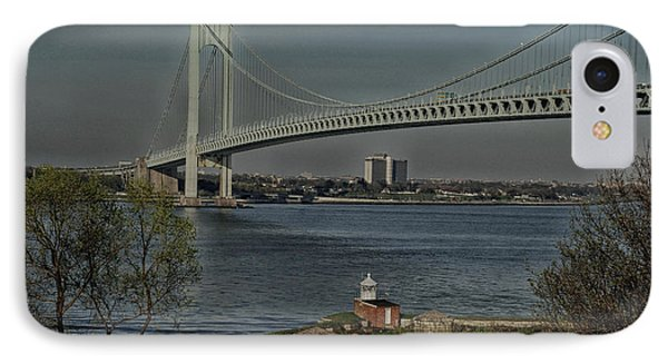 Verrazano Bridge And Fort Wadsworth IPhone Case