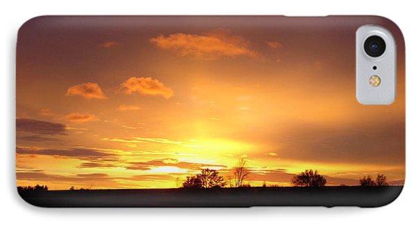Veteran's Day Sunset 2013 IPhone Case