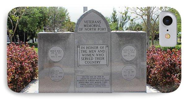 Veterans Memorial IPhone Case