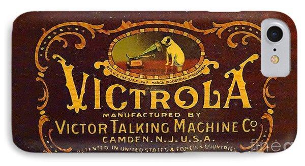 Victor Victrola Label IPhone Case