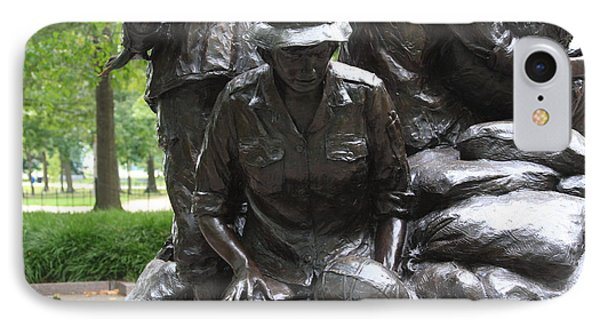 Vietnam Nurses Memorial  Faith IPhone Case