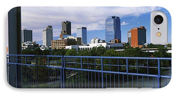 View From Junction Bridge Pedestrian IPhone Case