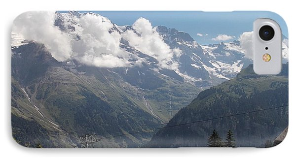 View From Murren IPhone Case