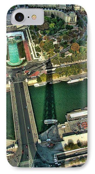View From The Eiffel Tower IPhone Case
