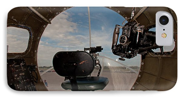 View From The Nose Of Memphis Belle IPhone Case