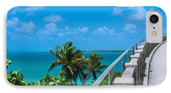 View From The Old Bahia Honda Bridge IPhone Case