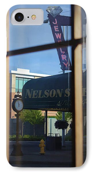 View From The Window Auburn Washington IPhone Case