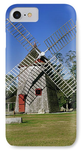 View Of Eastham Windmill, Eastham, Cape IPhone Case