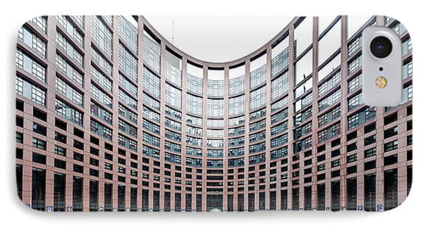 View Of The European Parliament IPhone Case