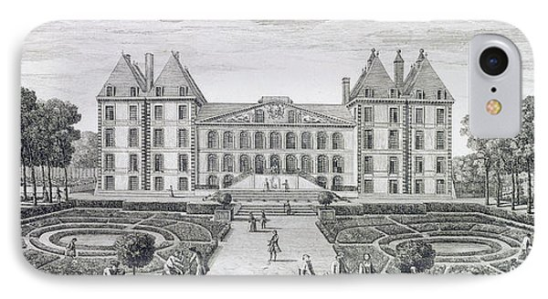 View Of The Royal Chateau Of Saint Maur From The Garden  IPhone Case