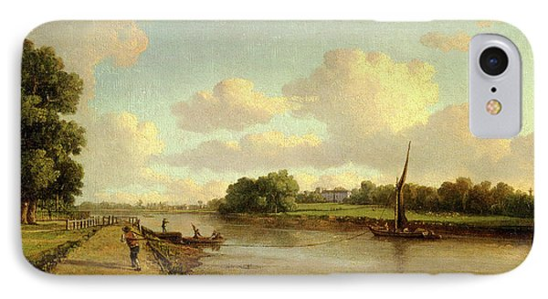 View On The River Thames At Richmond View On The River IPhone Case