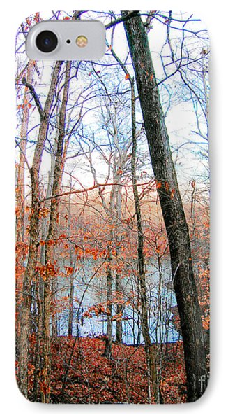Village Creek State Cabins View IPhone Case