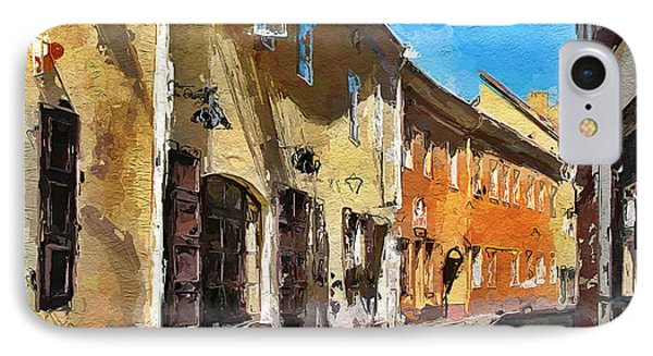 Vilnius Old Town 35 IPhone Case