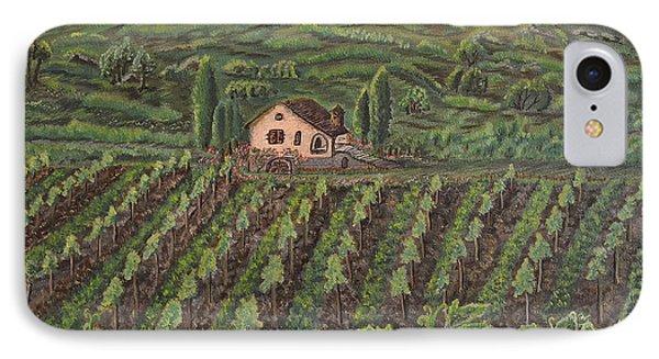 Vineyard In Neuchatel IPhone Case