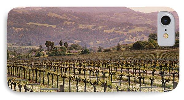 Vineyard On A Landscape, Asti IPhone Case