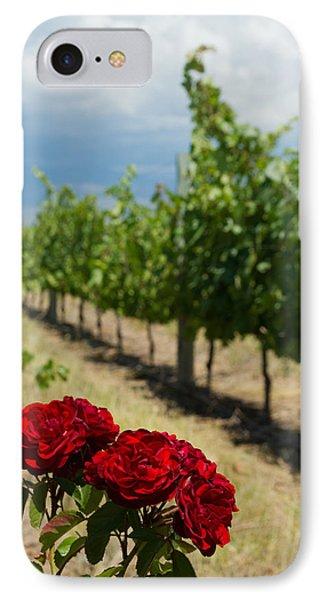 Vineyard Rose IPhone Case