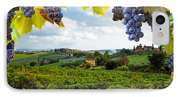 Vineyards In San Gimignano Italy IPhone Case
