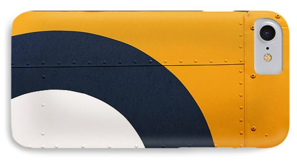 Vintage Airplane Abstract Design IPhone Case