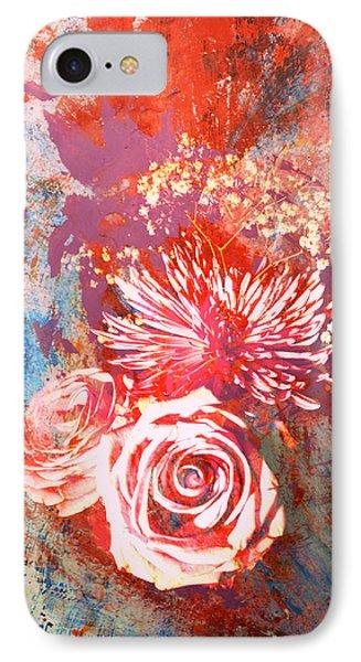 Vintage Bouquet Art IPhone Case