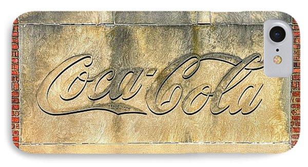 Vintage Coca Cola Bottling Plant Portal - Frederick Md IPhone Case