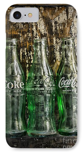 Vintage Coke Bottles IPhone Case