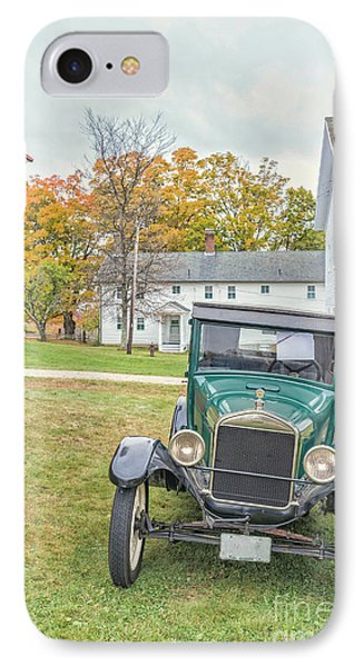 Vintage Ford Model A Car IPhone Case