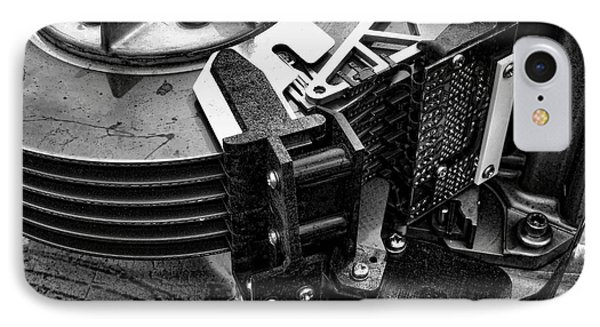Vintage Hard Drive IPhone Case