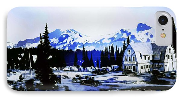 Vintage Mount Rainier Camp And Store Supplies Early 1900 Era... IPhone Case