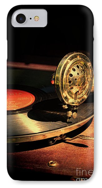 Vintage Record Player IPhone Case