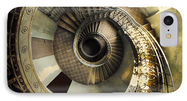 Vintage Spiral Staircase IPhone Case