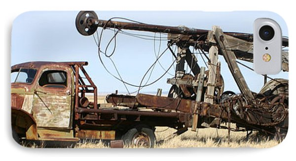 Vintage Water Well Drilling Truck IPhone Case