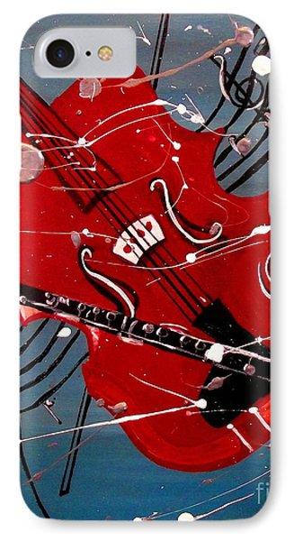 Viola And Clarinet Magic IPhone Case