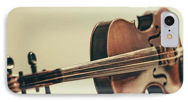 Violin iPhone 8 Case - Violin by Emily Kay