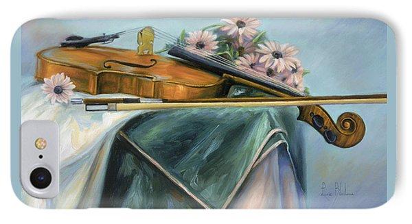 Violin iPhone 8 Case - Violin by Lucie Bilodeau
