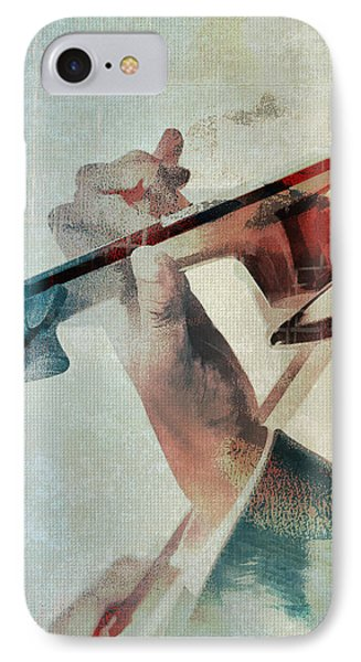 Violin iPhone 8 Case - Violinist by David Ridley