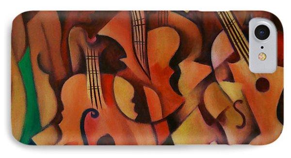 Violins With Mandolin IPhone Case